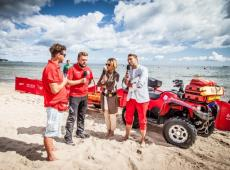 Safe summer with Plus, rescue services and TV Polsat