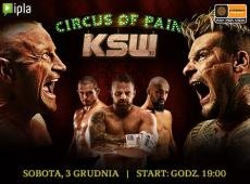 KSW Circus of Pain Gala live in Cyfrowy Polsat and IPLA